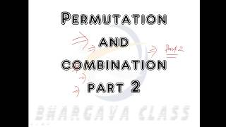permutation and combination part 2