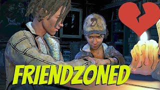 "Clementine Friendzones Louis - The Walking Dead:Season 4 Episode 2 ""Suffer The Children"" - Romance"