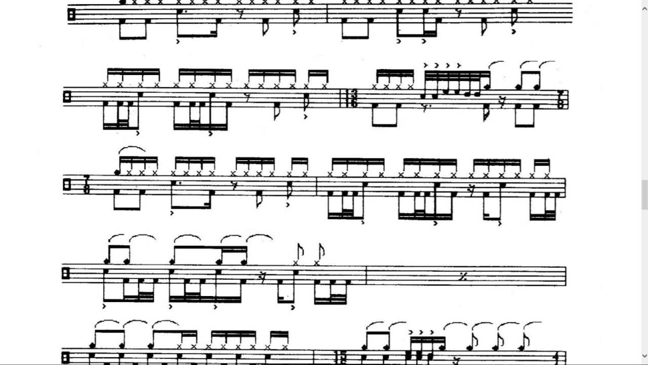 rush sheet music