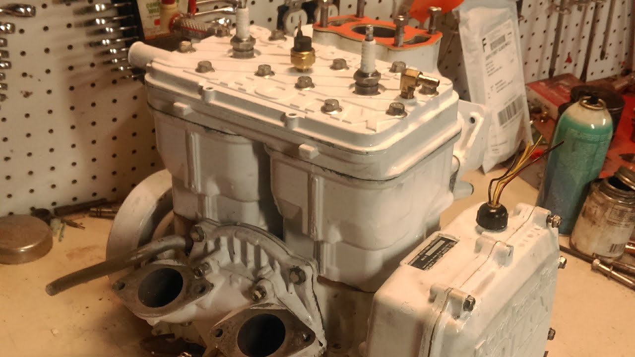 How a seadoo rotax engine works  YouTube