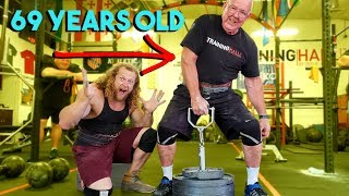 World's Best Grip? OLD MAN STRENGTH SHOWS US UP
