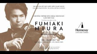 VIOLIN Fumiaki Miura PIANO Akira Eguchi PROGRAM (32:25) DVORAK Roma...