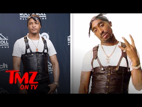 T.I. Dresses Like Tupac And Gets Destroyed On Social Media | TMZ TV