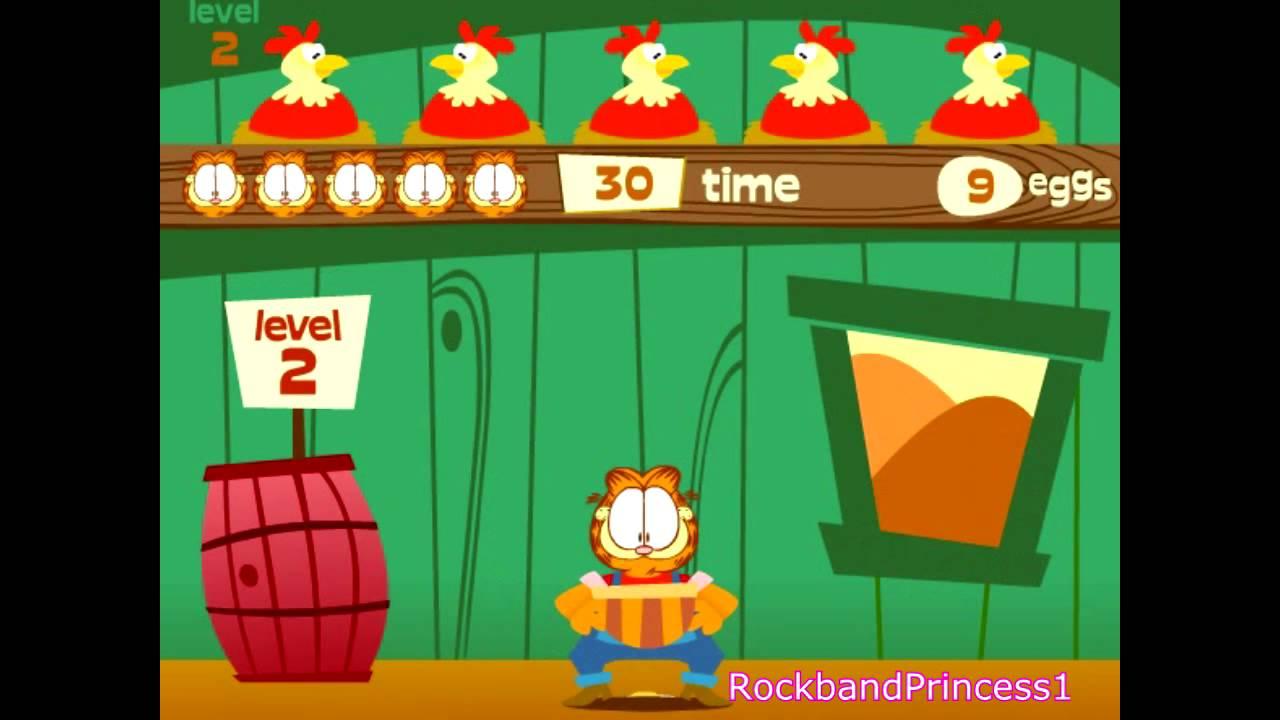 Garfield Online Games Coop Catch Game - Youtube-7883