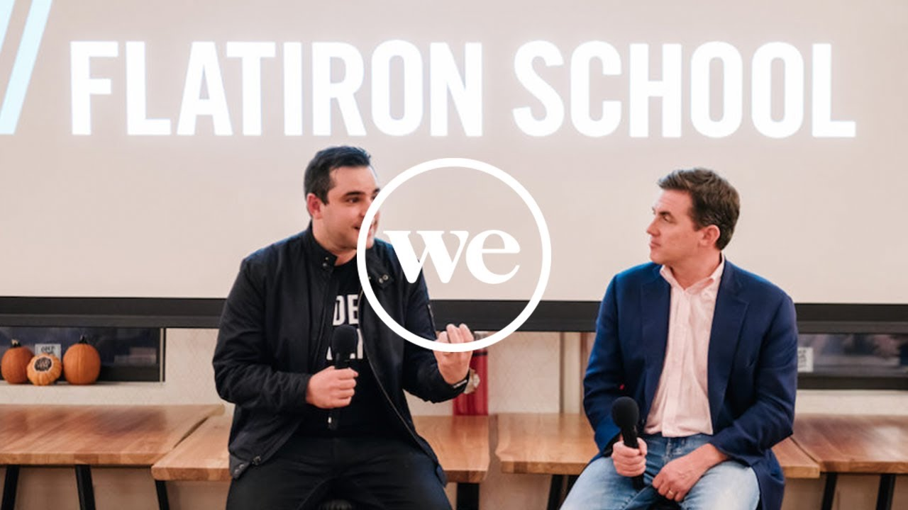 The Flatiron School Founders on Training the Future Workforce | Live on  WCBS 880 | WeWork