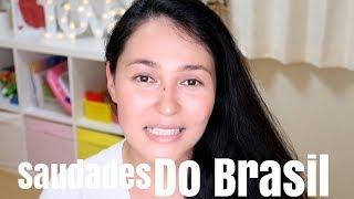 Coisas que sinto saudade do Brasil , são tantas itens que se eu reu...