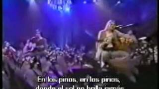 Nirvana - Where did you sleep last night (Subtitulado En Español)