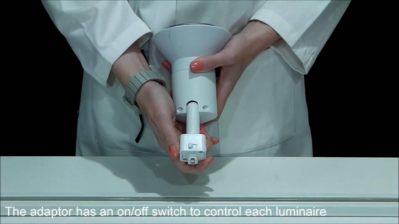 Illuma Lighting Track Systems Using A 1 Circuit Adaptor