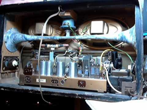 Loewe-Opta 2841W German Vacuum Tube Radio Video #1 - Checkout