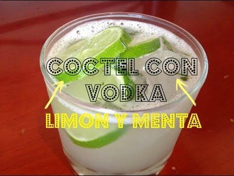 COMO PREPARAR UN COCTEL CON VODKA? - Limón y Menta - CPR