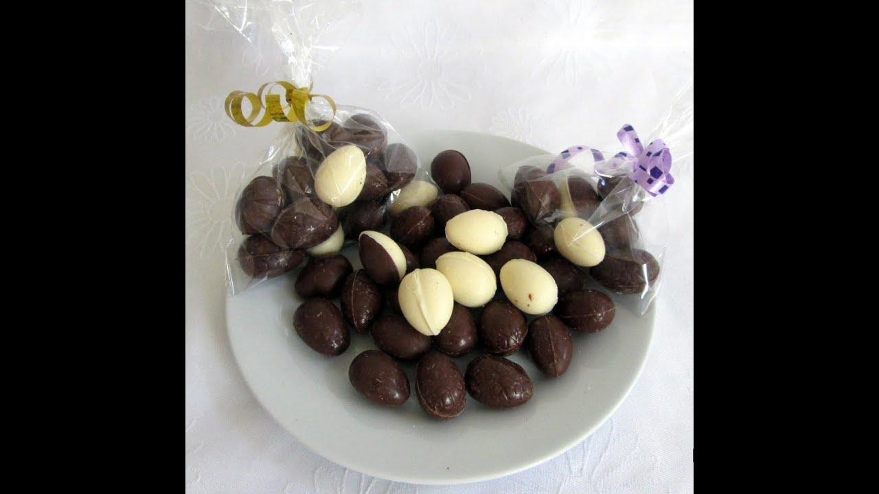 Huevos de chocolate caseros pascua de resurrecci n for Manualidades pascua