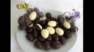 COMO HACER HUEVOS DE CHOCOLATE CASEROS (EASTER HOLIDAY)
