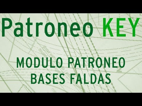 PATRONEO KEY-MODULO PATRONEO BASES FALDAS Travel Video