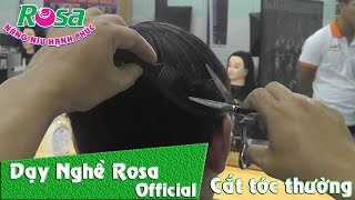 Hướng dẫn cắt tóc nam đơn giản nhất