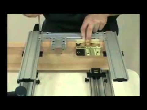 How To Use Hinge Mate Mortising Jig System Door Tool