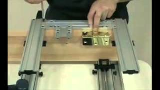 How To Use Hinge Mate Mortising Jig System Door Tool Woodworking