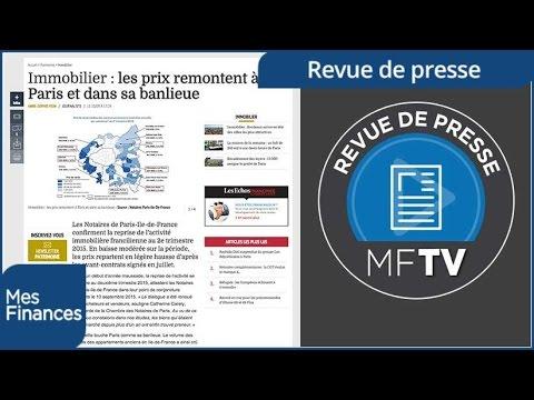 Revue de presse semaine 38 : redevance tv, assurance vie et immobilier parisien