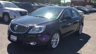 2016 Buick Verano Manual Leather FWD Black Oshawa ON Stock# 161107