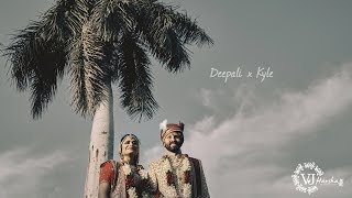 Destination Wedding in Udaipur   Deepali x Kyle   Cinematic Film   Indian Wedding Highlight