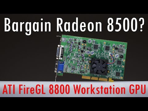 Is the ATI FireGL 8800 worth getting for Retro Gaming as a cheap Radeon 8500?