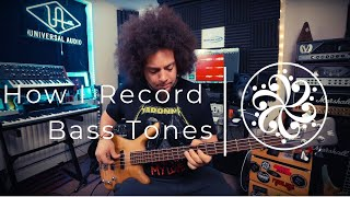 HOW I RECORD BASS TONES | Darkglass MicroTubes M900 V2