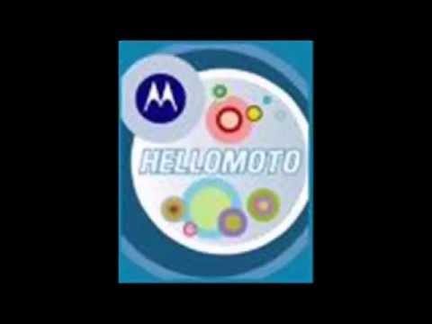 Motorola razor HELLOMOTO!