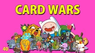 Adventure Time : CARD WARS - Leveling Doctor Donut 40 - iOS iPhone iPod iPad Android