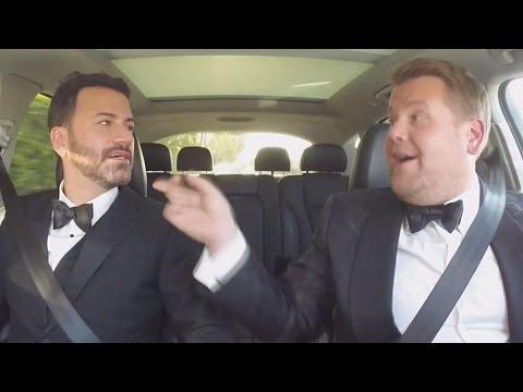 Jimmy Kimmel & James Corden Do Carpool Karaoke At 2016 Emmys