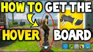 Comment UNLOCK The HoverBoard in Fortnite Save The World - Hoverboard Gameplay