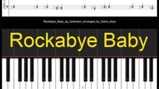 Download Rockabye Baby Free Sheet Music