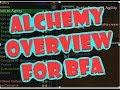 BFA Alchemy Overview