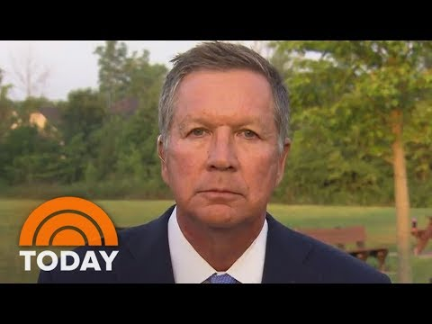 John Kasich On Donald Trump And Charlottesville: 'Pathetic, Isn't It?' | TODAY