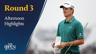 The 147th Open - Saturday afternoon highlights
