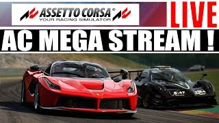 Assetto Corsa - Online Racing With Subs - Mega Stream !