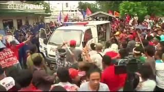 مسرة احتجاجية في مانيلا ضد الوجود العسكري الأميركي