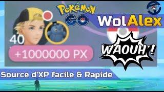 Faire 1.200.000 XP en 5mn sur Pokemon GO ? C'est possible, preuve en vidéo.