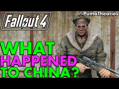 Fallout 4 Theory: What Happened to China Post W-A-R? (Lore and Theory) #PumaTheories