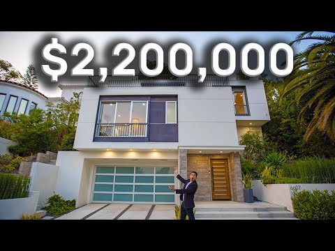 What $2.2 Million Gets You In The Hollywood Hills! | Los Angeles Luxury Mansion Tours