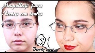 Beauty News | Maquillaje para novias que usan lentes