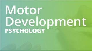 Motor Development | Psychology (PSYC101)