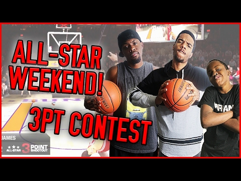 WHO'S THE BEST 3 POINT SHOOTER?? - NBA Live 09 All-Star Weekend Gameplay