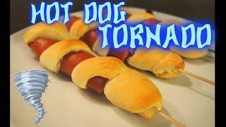 Easy Recipe: Hot Dog Tornado