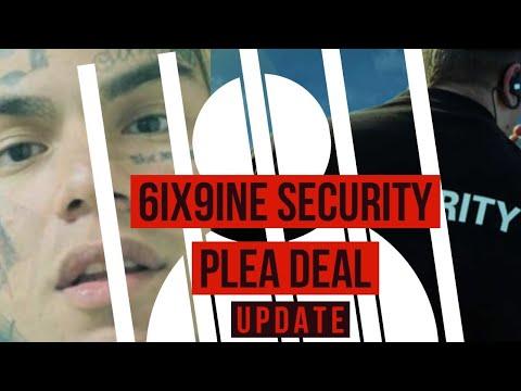 UPDATE: Tekashi 6ix9ine Security Guard Strikes Plea Deal