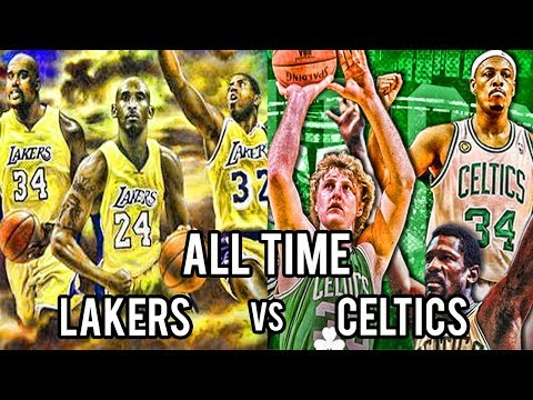 NBA 2K17 - All Time Celtics vs All Time Lakers - Get Pumped for NBA 2K18! - PC MOD - HD!