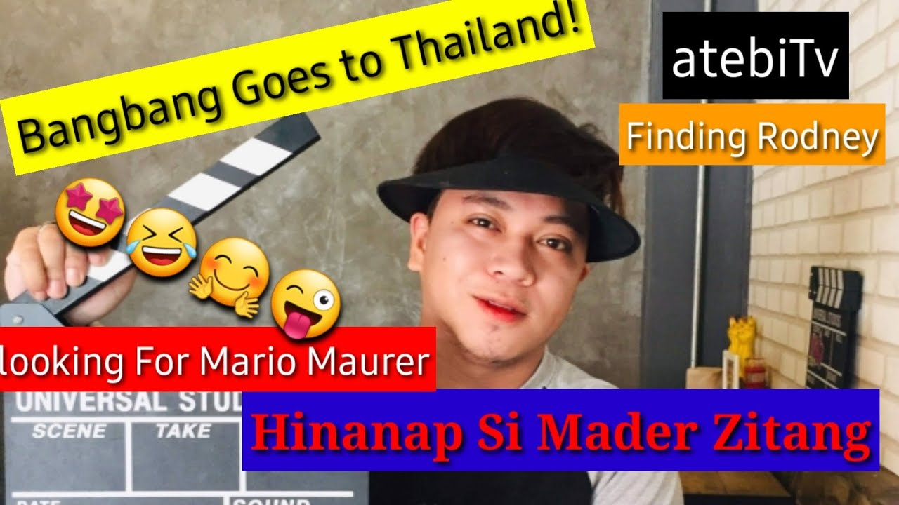 Download #atebitv #bangbangtvsathailand #findingRodney  Bangbang nag thailand trip2019 asan na si Rodney?