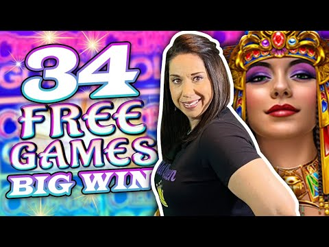 Slot Queen Takes On HIGH LIMIT Cleo // 5 Symbol Trigger For A BIG WIN
