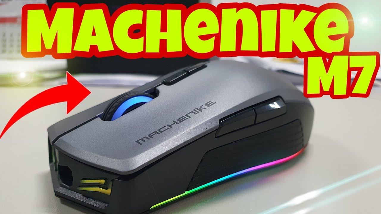 Mouse MACHENIKE M7 1000Hz será QUE é  Gamer!? Resposta muito RÁPIDA | Aliexpress
