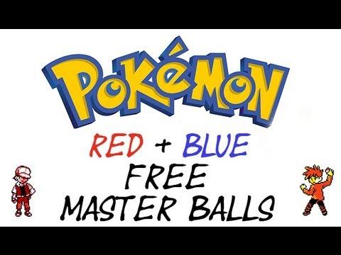 Pokemon Red And Blue - Master Ball Cheat | GameShark Codes