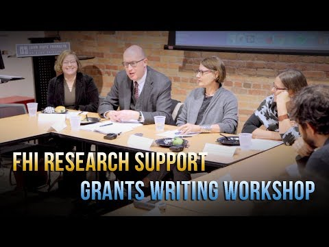 FHI Grants Workshop: NEH and Junior Faculty