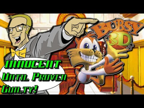 Bubsy 3D (Sony Playstation/PS1/PSX) - INNOCENT Until Proven Guilty!